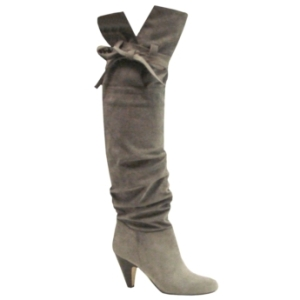 Available at Bakers shoe stores ($79.95). Looks perfect with a pencil skirt that falls below the knee.