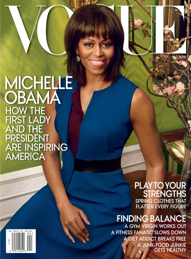 FLOTUS Covers Vogue