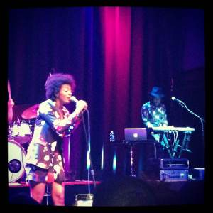 "Washington, DC's 9:30 Club turned into an 80s dance party for Solange's ""True"" show."