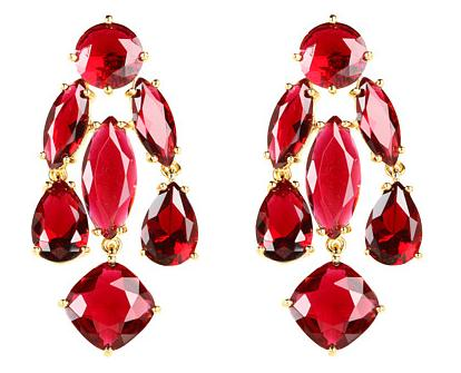 Kate Spade New York Statement Earrings (Zappos Couture, $68.99)