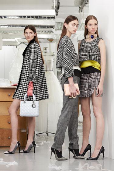 Christian Dior, Fall 2013. Photo: Harper's Bazaar