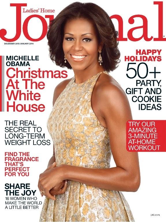 FLOTUS+Michelle+Obama+para+LHJ+Dec+2013www.afrolistasandthecity.blogspot.com