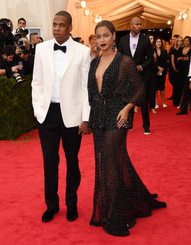 Hip-Hop Mogul Jay-Z (Sean Carter) and Beyonce